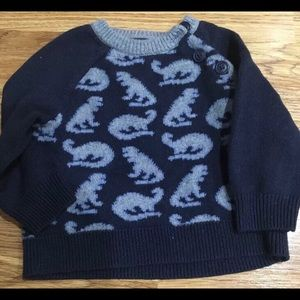 BabyGap Dinosaur Pull Over Sweater 12 Months
